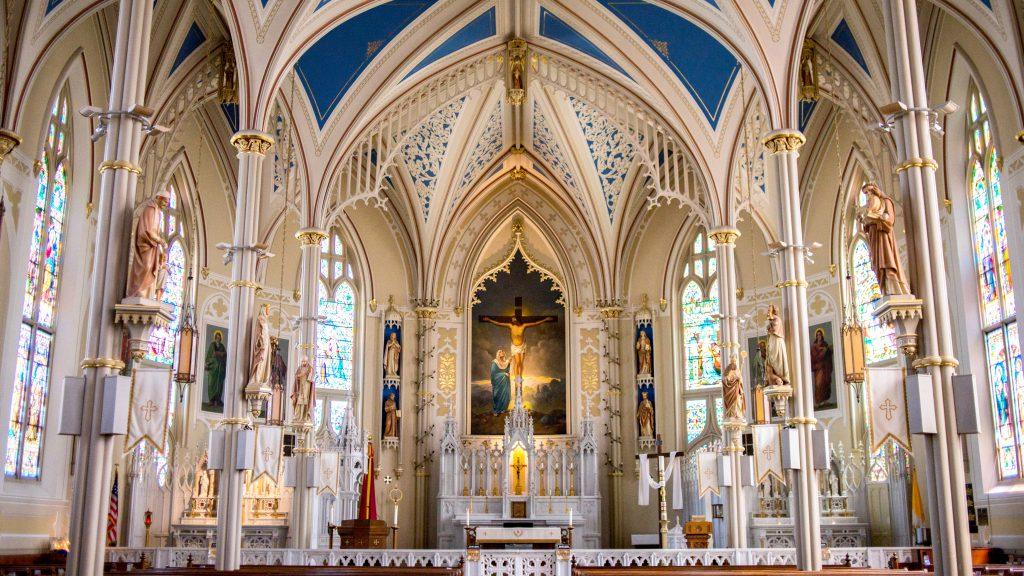 church asbestos report